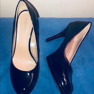 Sexy Merona Black Patent Heels!